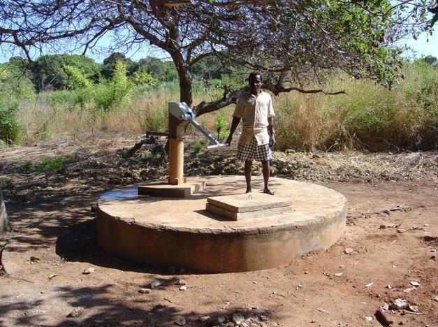 Pozzi d'acqua in Mozambico